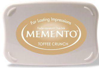 MEMENTO INKPAD - Тампон с ярък отпечатък TOFFEE CRUNCH