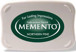 MEMENTO INKPAD -Тампон с ярък отпечатък NORTHERN PINE
