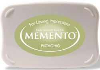 MEMENTO INKPAD - Тампон с ярък отпечатък PISTACHIO