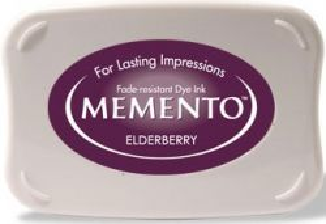 MEMENTO INKPAD - Тампон с ярък отпечатък ELDERBERRY