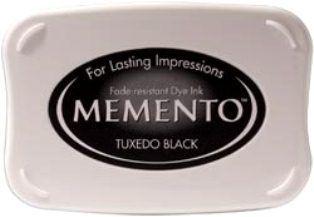 MEMENTO INKPAD - Тампон с ярък отпечатък TUXEDO BLACK