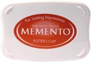 MEMENTO INKPAD - Тампон с ярък отпечатък POTTERS CLAY