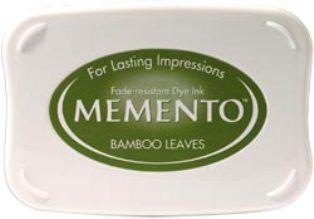 MEMENTO INKPAD - Тампон с ярък отпечатък BAMBOO LEAVES