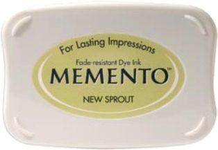 MEMENTO INKPAD - Тампон с ярък отпечатък NEW SPROUT