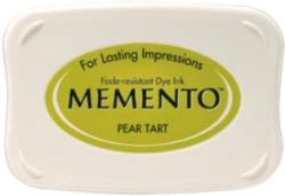 MEMENTO INKPAD - Тампон с ярък отпечатък PEARL TART
