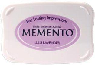 MEMENTO INKPAD - Тампон с ярък отпечатък LULU LAVENDER