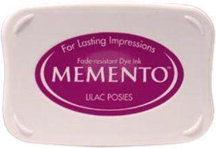 MEMENTO INKPAD - Тампон с ярък отпечатък LILAC POISIES