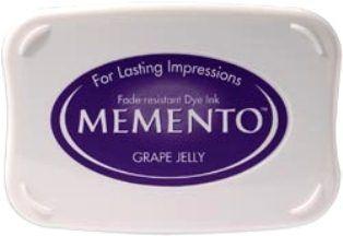 MEMENTO INKPAD - Тампон с ярък отпечатък GRAPE JELLY