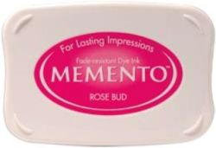 MEMENTO INKPAD - Тампон с ярък отпечатък ROSE BUD