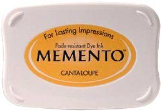 MEMENTO INKPAD - Тампон с ярък отпечатък CANTELOUPE