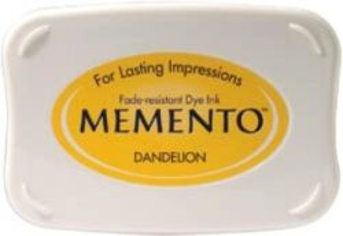 MEMENTO INKPAD - Тампон с ярък отпечатък DANDELION
