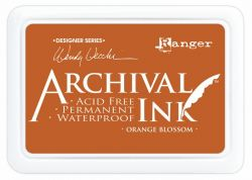 ARCHIVAL INK PAD, USA - Tампон с архивно перманентно мастило, Orange Blossom