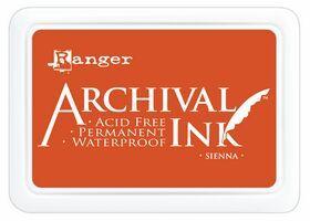 ARCHIVAL INK PAD, USA - Tампон с архивно перманентно мастило, Sienna (Russet)