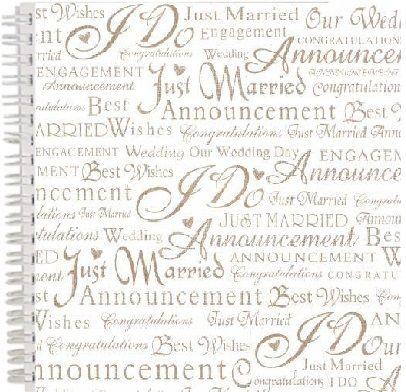 "ALBUM SCRAPBOOKING ""Wedding"" - Дизайнерска сватбена книга -  албум 24 перлени страници 30 х30  сма"