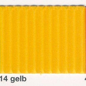 FOLIA, Germany - Цветно деко велпапе 50x70см - ТОПЛО ЖЪЛТО