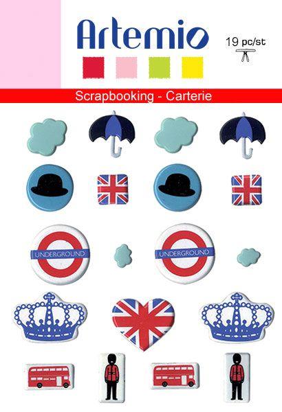 BRADS ARTEMIO DESIGN - LONDON 19 бр.