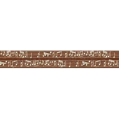 STAMPERIA Printed Cotton Ribbon 15mm x5m - Деко текстилна панделка
