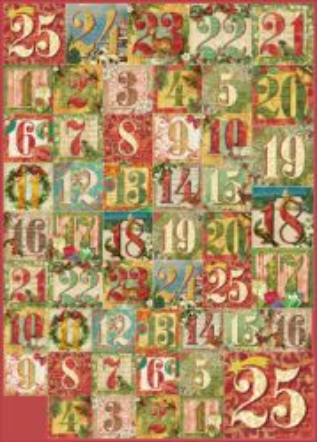 STAMPERIA CLASSICO, Italy - Хартия за декупаж 50Х70см / dfg437