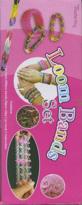 Loom Band SET - Стартов комплект за плетене с ластици