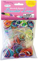 Loom Bands ASSORTED - Ластици за плетене микс