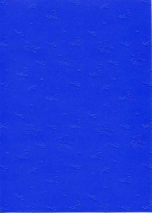 "FB EMBOSS CARD - Преге картон 230гр ""АНГЕЛЧЕТА"" 50х70см - Ултрамарин"
