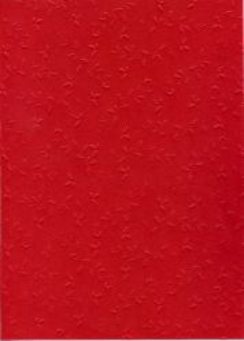 "FB EMBOSS CARD - Преге картон 230гр""ОРНАМЕНТИ"" 50х70см - Тъмно червено"