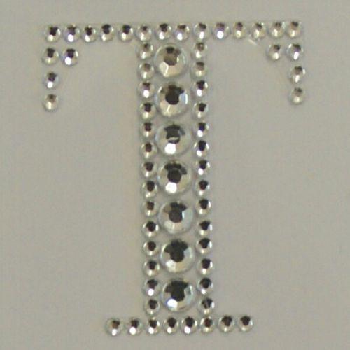 Sticker Crystal  `T`  - Кристални стикери 3х4 см.
