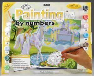 R&L,USA - Рисуване по номера А3- * PJL20