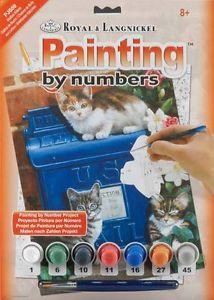 R&L USA A4 # MAILBOX KITTENS - Рисуване по номера * PJS59