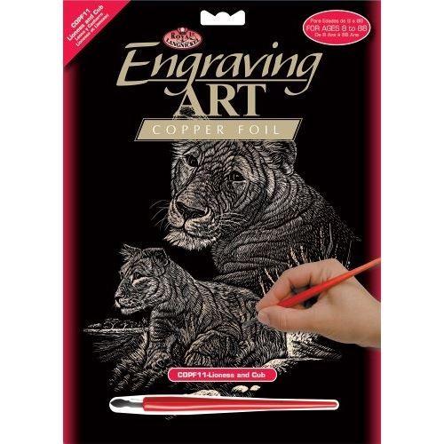 R&L,USA Engraving Art А4 - Картина за гравиране -медно фолио