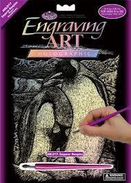 R&L,USA Engraving Art А4 - Картина за гравиране -хамелеон фолио