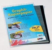 HOBBY LINE Kopier-PAPER - Графитно индиго за копиране върху стъкло и порцелан 10бр