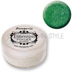 EMBOSSING POWDER Stamperia - Пудра за топъл ембосинг 15мл # ЗЕЛЕНА