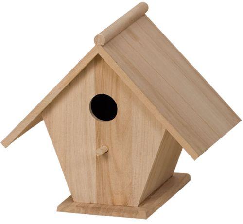 BIRD HOUSE - Къщичка за птички стандартна 22 х 22 х 17
