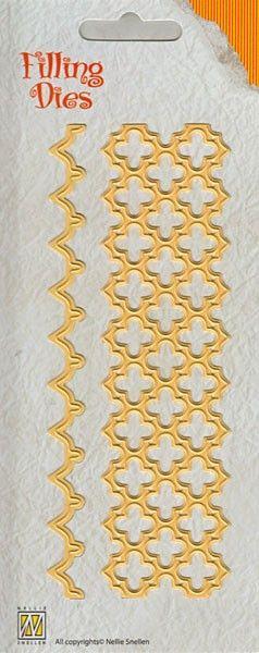 Nellie Snellen QD009 - Детайлен шаблон за рязане