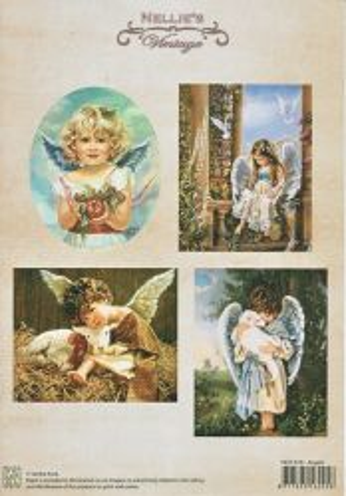 A4 DECOUPAGE Christmas Vintage  - АРТ декупажна хартия / 018