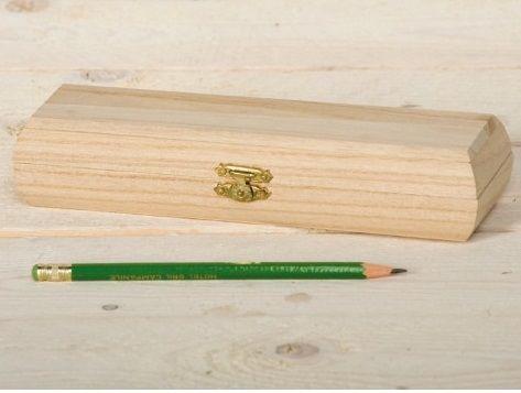 """BOX  """"PENCIL"""" Artemio - Дървена кутия за пишещи средства"""