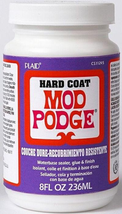 MOD PODGE HARD COAT, USA - Високоустойчиво лепило/лак  236 мл.