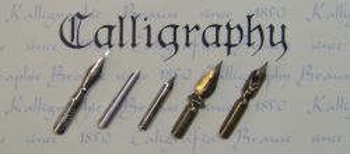 CALLIGRAPHY & WRITING NIBS - Комплект пера за писане и графика