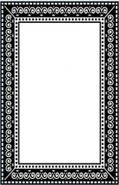 DARICE Emboss Folder - Папка зa релеф 10.8х14.6см PHOTO FRAME №115