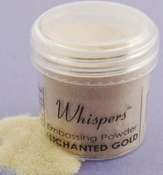 WHISPERS embossing powder - Пудра за топъл ембос ENCHANTED GOLD