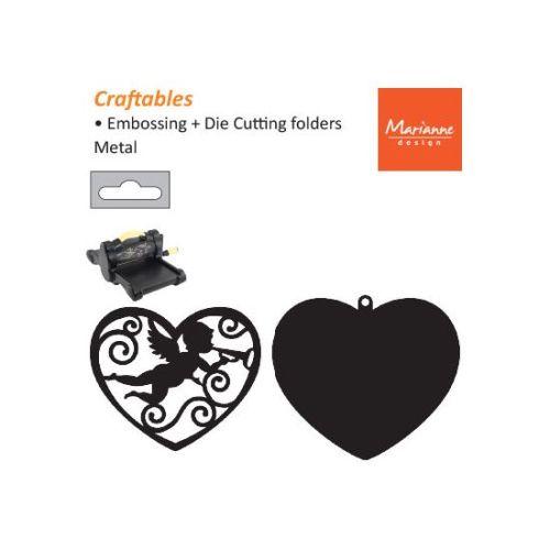 HEART by Marianne Design FILIGREE ANGEL - Шаблони за рязане и ембос