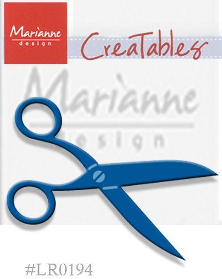 Marianne Design - Шаблон за рязане и ембос LR0194