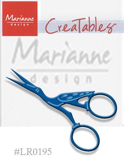 Marianne Design - Шаблон за рязане и ембос LR0195