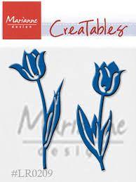 Marianne Design - Шаблон за рязане и ембос LR0209