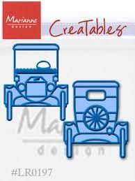 AUTO Marianne Design - Шаблон за рязане и ембос