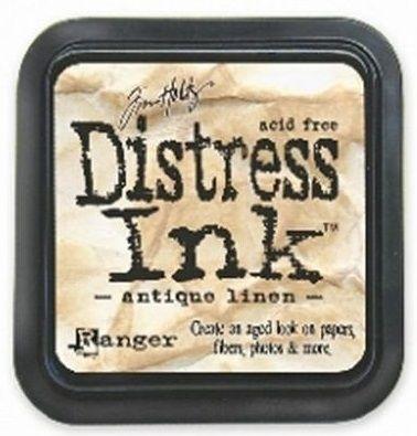 DISTRESS тампон - Antique linen