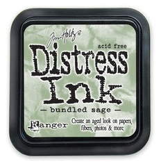 "Distress ink pad by Tim Holtz - Тампон, ""Дистрес"" техника - Bundled sage"