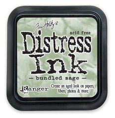DISTRESS тампон - Bundled sage