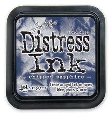 DISTRESS тампон - Chipped Sapphire